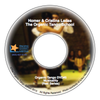 Organic Tango DVD's - Homer & Cristina Ladas - The Red Series