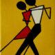 hand painted tango art
